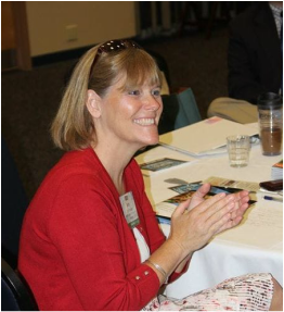 Beth at the 2016 Catholic Educator Conference on ESE